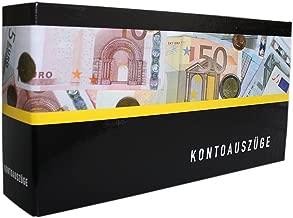 3 Stück Bankordner Auzugsordner Ordern für Bankauszüge Kontoauszüge 3 Farben