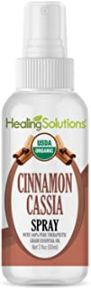 Organic Cinnamon Cassia Spray – Water Infused with Cinnamon Cassia Essential Oil – Certified USDA Organic - 2oz Bottle by ...