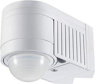 Maclean MCE202 infrarood bewegingsmelder (PIR) met schemeringssensor (12m 360° IP44), wit