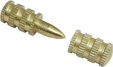 AERZETIX 100 Attache avec Cheville /à enfoncer Max 11//4mm Support Porte Fixe Cables Fils Blanc C41927