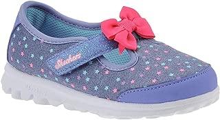 Skechers 女孩 Go Walk - Starry 风格 Mary Jane 低帮鞋