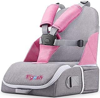 Silla para Beb/é con Cinturones de Seguridad de 5 Puntos y Bandeja Extra/íble Regulable en Altura Bellanny Trona Multifuncional 3 en 1 de 6 Meses a 8 A/ños Morado