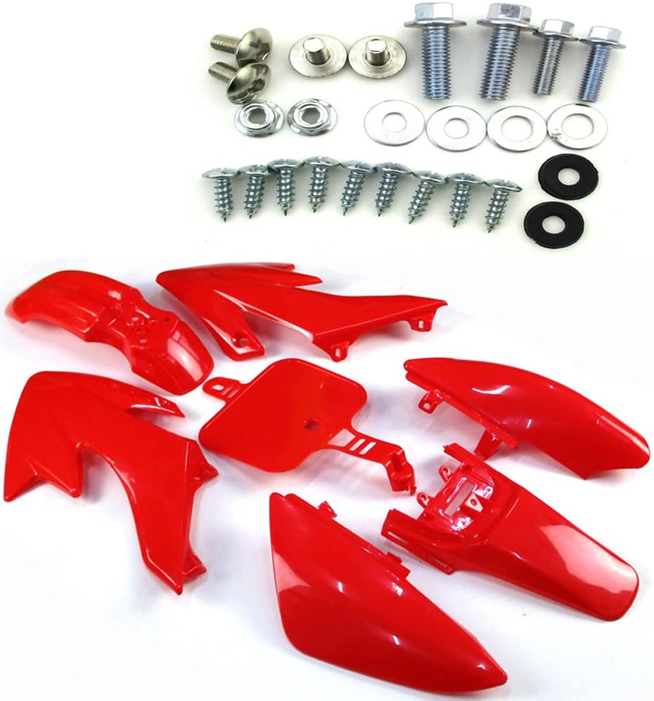 TC-Motor Red Fender Body Surprise price Work Limited time trial price Plastic Mou Kit Complete + Fairing