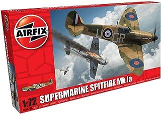 Airfix Supermarine Spitfire MkIa, multi colour, 1: 72 scale