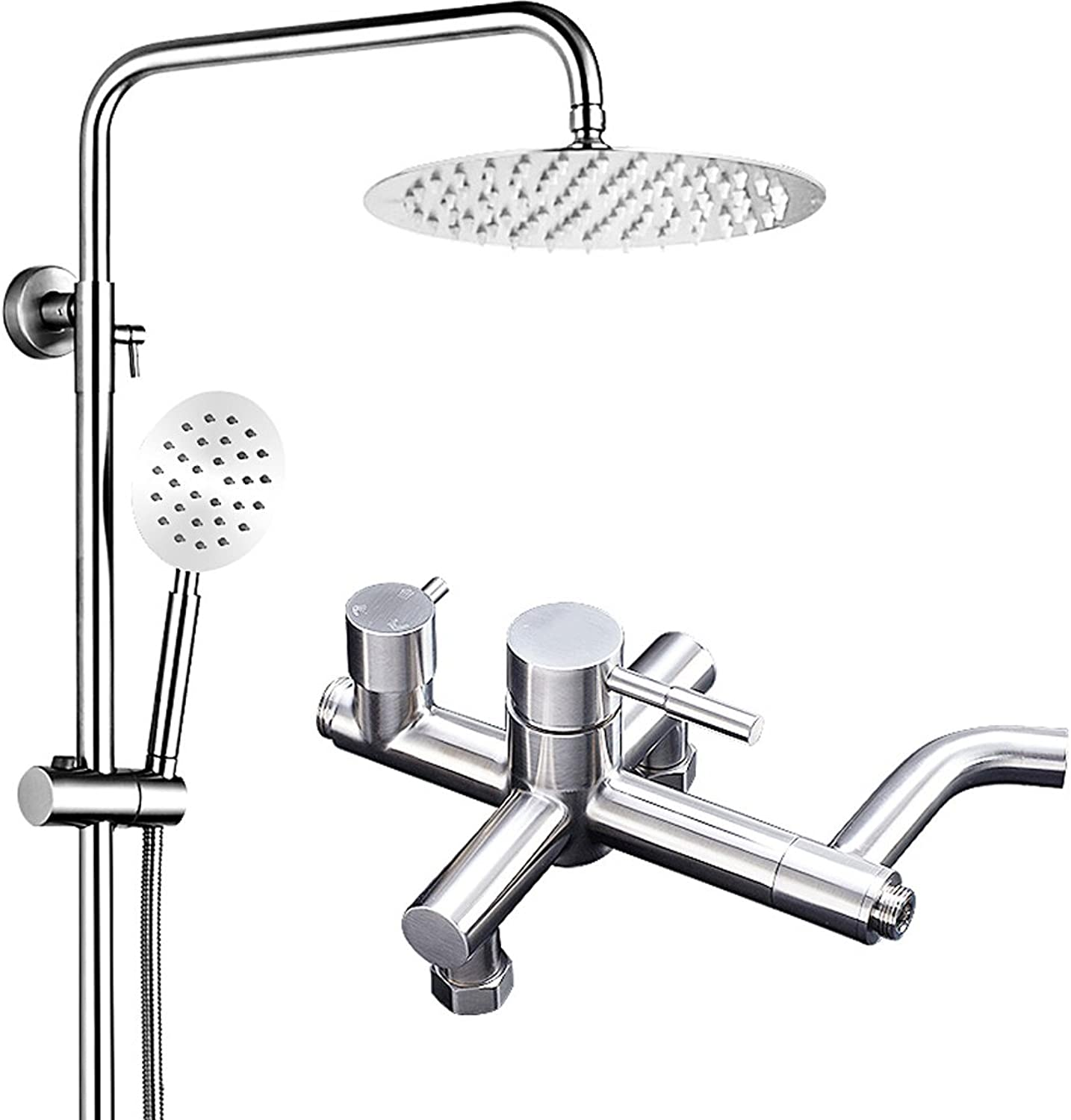 Edge to Shower set Stainless steel shower shower set hot and cold faucet shower shower shower head shower set