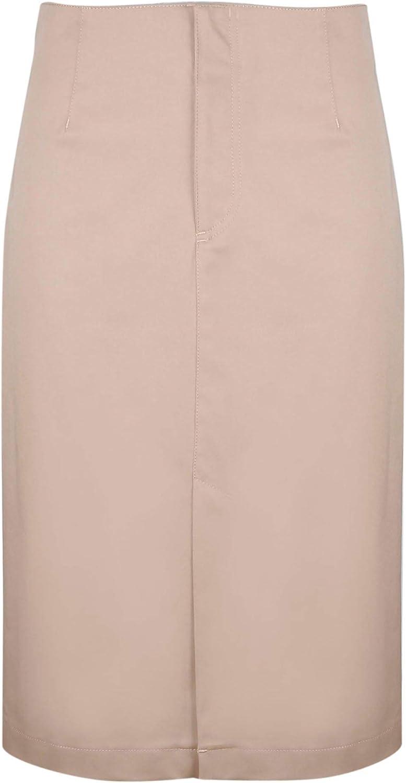 Red Valentino Women's RR0RAB300F5191 Beige Cotton Skirt
