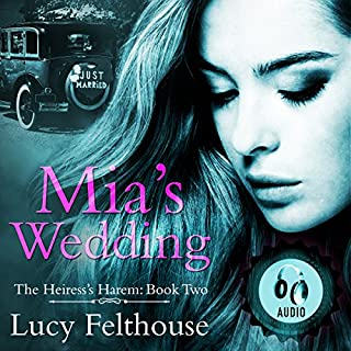 Mia's Wedding audiobook cover art