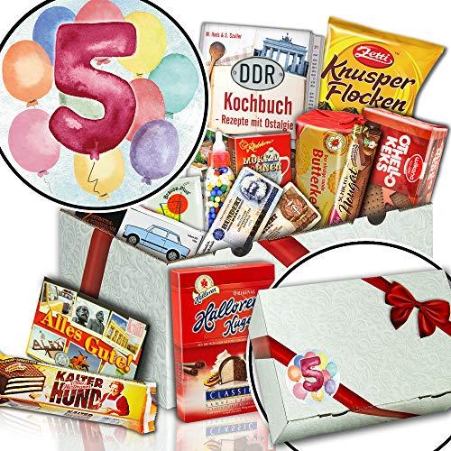 5. Jahrestag + DDR Geschenk Süßigkeiten + 5 Hochzeitstag Geschenk