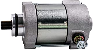 Libison Starter Motor, Motorcycle Jump Starter motor for KTM motorcycle 250 300 Exc 55140001100 410 WATT 410-54153c with 9 Number of Teeth