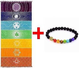 Grueso Cuadrado Bohemia Mandala Manta de yoga Pure Cotton 7