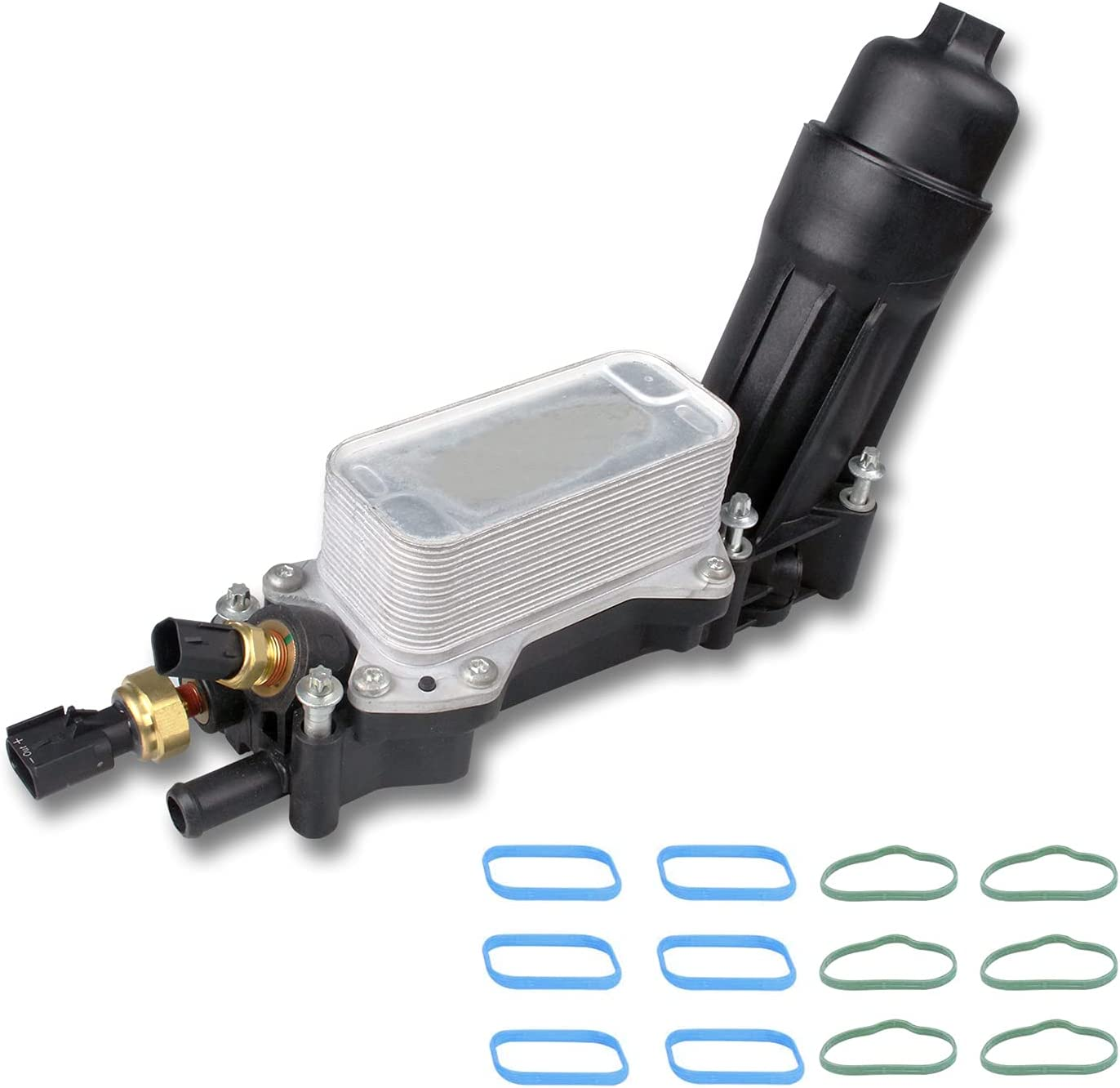 Engine Oil Cooler and Filter Assembly Replace: Courier shipping free shipping 6 Adapter Popular product Housing