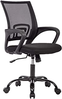 Ergonomic Mesh Computer Office Desk Midback Task Chair w/Metal Base, One Pack (Renewed)
