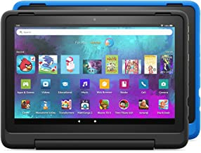 """Introducing Fire HD 10 Kids Pro tablet 2-pack, 10.1"""", 1080p Full HD, ages 6–12, 32 GB, Black/Intergalactic"""
