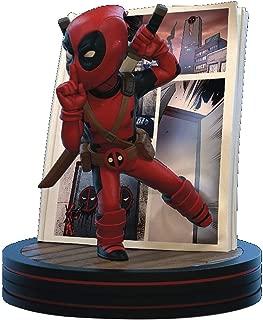Quantum Mechanix Marvel Deadpool 4D Q-Fig Diorama Figure