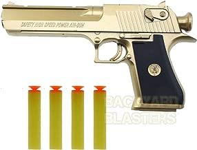 Backyard Blasters Toys Guns for Boys Golden Desert Eagle Toy Foam Dart Gun for Kids and Dart Gun Toy for Adults