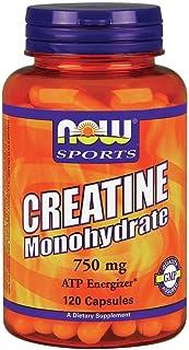 Now Foods Creatine Monohydrate 120 Caps 750 mg