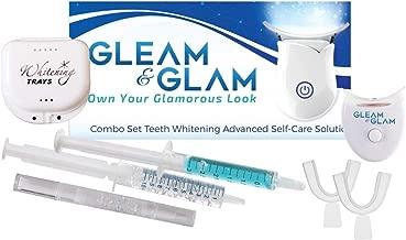 teeth gleam