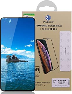 Samsung Galaxy A80 PINWUYO Full Covering Tempered Glass Screen Protector - Black.