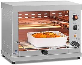 Royal Catering Salamandre Toaster Electrique Grill Cuisine RCET 360 (3.250W, 27,5 x 50 x 38,5 cm, 3 Élément chauffant à Qu...