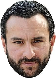 Saif Ali Khan Celebrity Mask, Card Face and Fancy Dress Mask