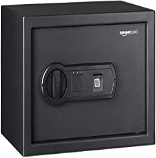 AmazonBasics Biometric Fingerprint Home Safe, 0.5 Cubic Feet - 25FIC