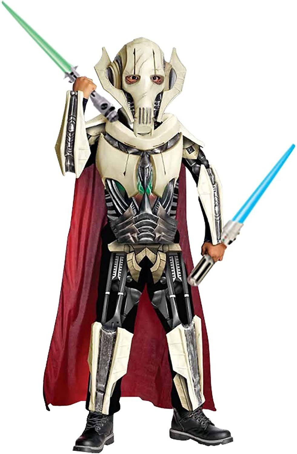 Rubies Costume Co R884521M Boys Deluxe Star Wars General Grievous Costume MEDIUM