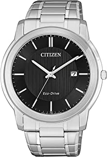 CITIZEN Men's Analogue Quartz Watch with Stainless Steel Strap AW1211-80E