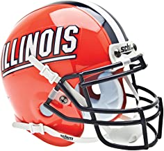 Schutt NCAA Illinois Illini Mini Authentic XP Football Helmet