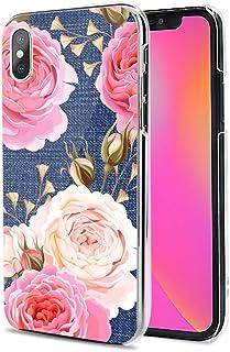 LG G8X ThinQ ケース カバー ハード TPU 素材 おしゃれ かわいい 耐衝撃 花柄 人気 全機種対応 花とカウボーイ フラワー 11906201