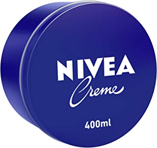 NIVEA Creme, Universal All Purpose Moisturizing Cream, Tin 400ml