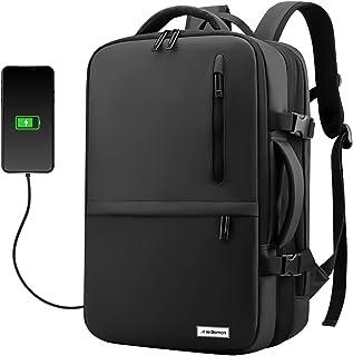 Redlemon Mochila para Laptop Expandible Antirrobo con Puerto USB para Power Bank (no incluido), Tamaño Extra Grande, 3 Div...