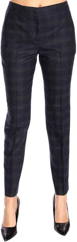 Fabiana Filippi Women's PA85018J225VR2 bluee Wool Pants