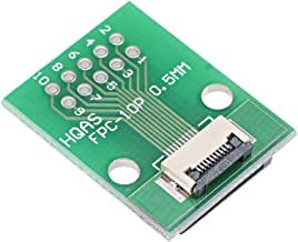 uxcell FFC FPC 10 Pin 0.5mm Pitch to DIP 1.0mm PCB Converter Board Couple Extend Adapter