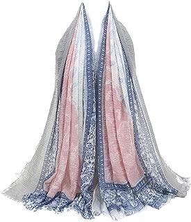 Multipurpose Shawl Scarf/DEATU Women Fashion Retro Point Printed Scarf Ladies Female Hijab Scarves