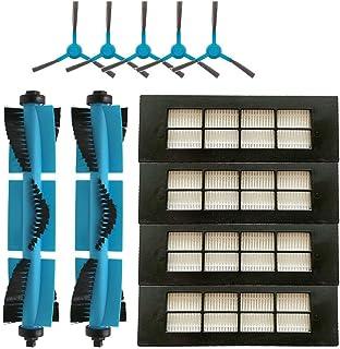 Dasorende Robot Aspirador Cepillo Principal del Filtro HEPA Cepillo Lateral para Conga 3090 Series Accesorios de Piezas de Filtro de Aspiradora Rob/óTica