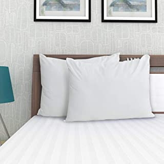 Home Centre Stave White Set of 2 Solid Pillows - 40 x 60 cm - White