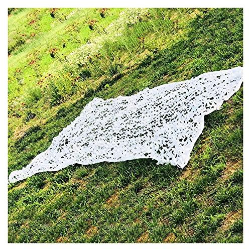 ALGFree Camuflaje 1 Red de Caza jardín Bosque Carpa Grande Red de Camuflaje cámping Cubierta de pérgola Abrigo, Personalizable (Color : White, Size : 6×8m)