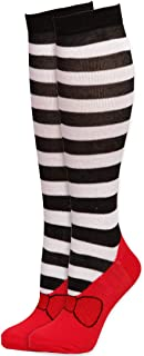 Wizard of Oz Wicked Witch of the West Striped Knee High Sock