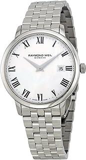 Raymond Weil - Reloj Analogico para Hombre de Cuarzo con Correa en Acero Inoxidable 5488-ST-00300