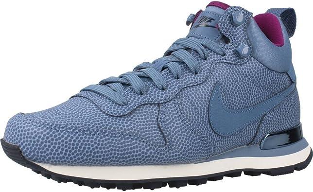 Nike Womens Internationalist Mid LTHR Hi Top Trainers 859549 Sneakers Shoes