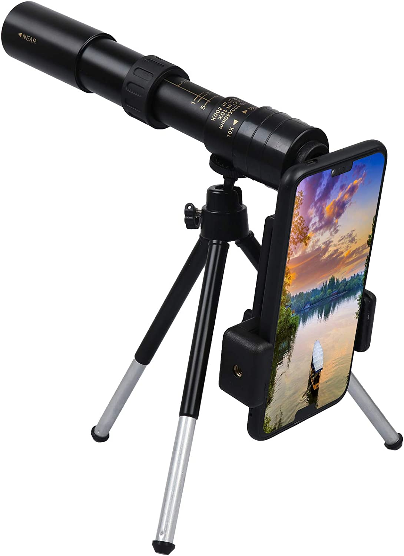 WayJaneDTP 4K 10-300x40mm Super Telesco Zoom Monocular Ranking TOP4 High order Telephoto
