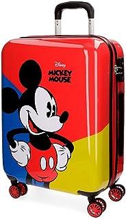 Mickey Equipaje Infantil, 55 cm, 33 litros, Rojo