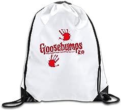 Duola Goose 2 Red Handprint Fashion Gymsack Sack Bag
