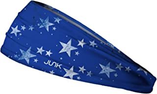 JUNK Brands Into The Night Big Bang Lite Headband, Blue, One Size