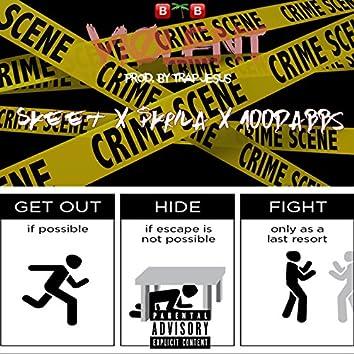 Violent (feat. Skrila & 100DABBS)