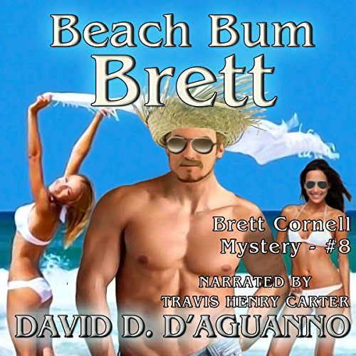 Beach Bum Brett audiobook cover art
