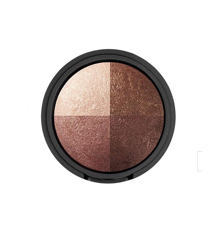 アダルト再生寄付するWAKEMAKE Eye Styler Eyeshadow 4色のアイシャドウパレット#6 ROSE BROWN(並行輸入品)