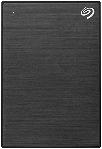 Seagate Backup Plus Portable 4 TB External Hard Drive HDD – Black USB 3.0 for PC Laptop and Mac, 1 Year Mylio Create,...