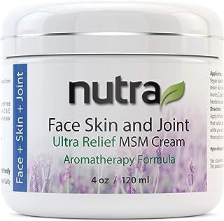Face, Skin & Joint Ultra Relief Cream Nutra Health 4 oz (120ml) Jar