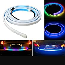 Chinar Enterprises Multi-Functional, Multi-Colour LED Universal Light for Tailgate Or Boot Or Diggi Works On Brake, Parking and Indicators